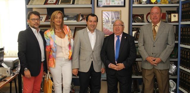 Visita del delegado del gobierno de la junta de for Noticias del gobierno